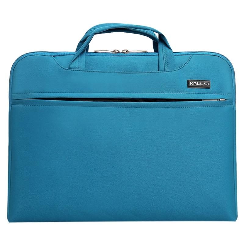 New waterproof arrival laptop bag case computer bag notebook cover bag 14 inch for Apple Lenovo Dell Computer bag(Sky Blue)