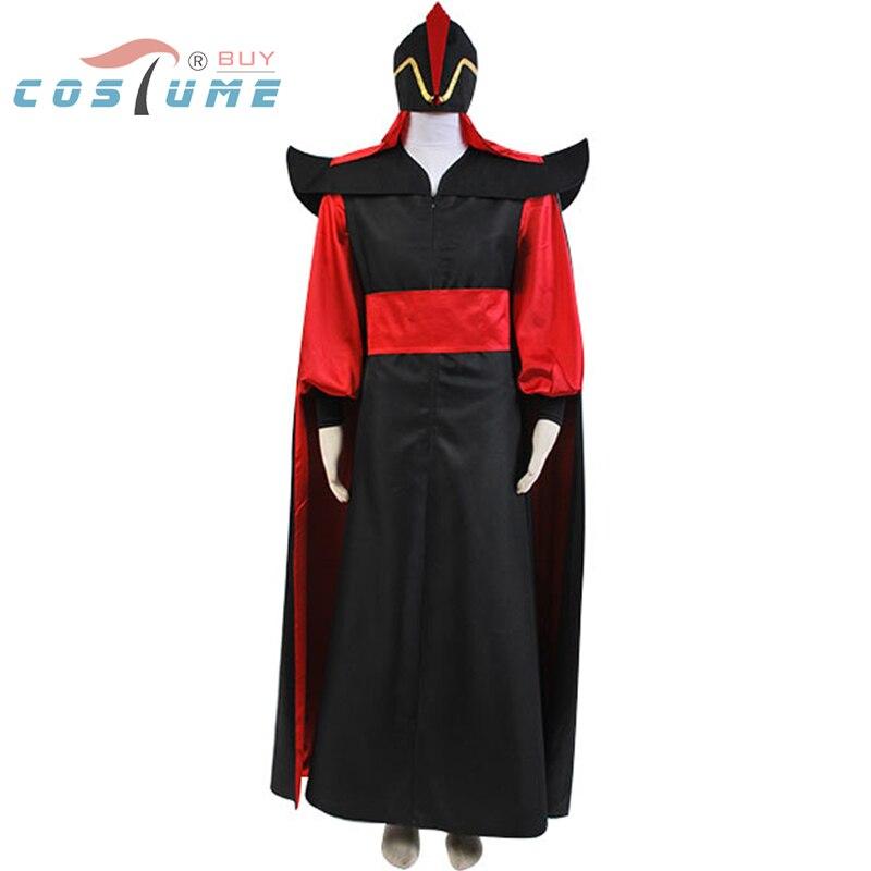 Costume adulte Aladdin le retour de Jafar chapeau assistant Jafar méchant Cosplay Costume ensemble complet fête d'halloween