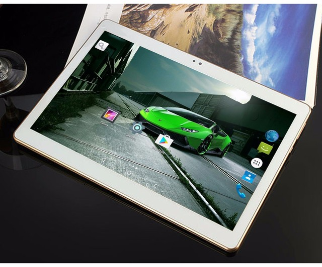 2016 New 10 inch Octa Core 3G Tablet 4GB RAM 32GB ROM 1280*800 Dual Cameras Android 5.1 Tablet 10.1 inch DHL Free Shipping