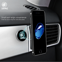 ESVNE Mini Car Magnetic Phone Holder Multifunction For iPhone 8 7 plus phone Stand Support cellular car holder