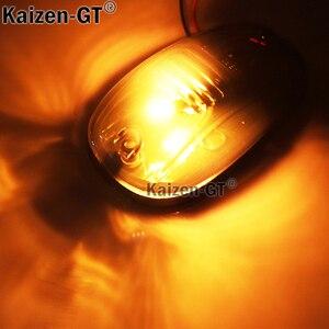 Image 5 - Feux de direction, ambre LED, pour camion SUV 4x4, 5 pièces, lentilles fumées noires