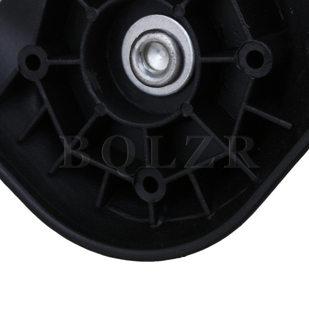 2 X BQLZR черный 10x9.3x4.8 см DIY Поворотный Spinner левый и правый Чемодан колеса