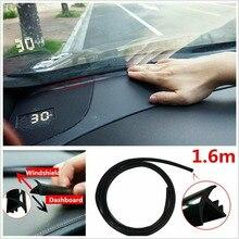 Topnavi 1,6 м резиновая Звукоизоляционная Пылезащитная уплотнительная полоса автомобильные аксессуары приборная панель лобовое стекло для BMW Toyota Ford Honda Benz E46