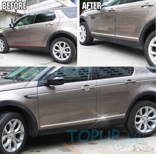 CHROME BODY MOLDING DOOR SIDE LINE TRIM COVER FIT FOR 2015- DISCOVERY SPORT