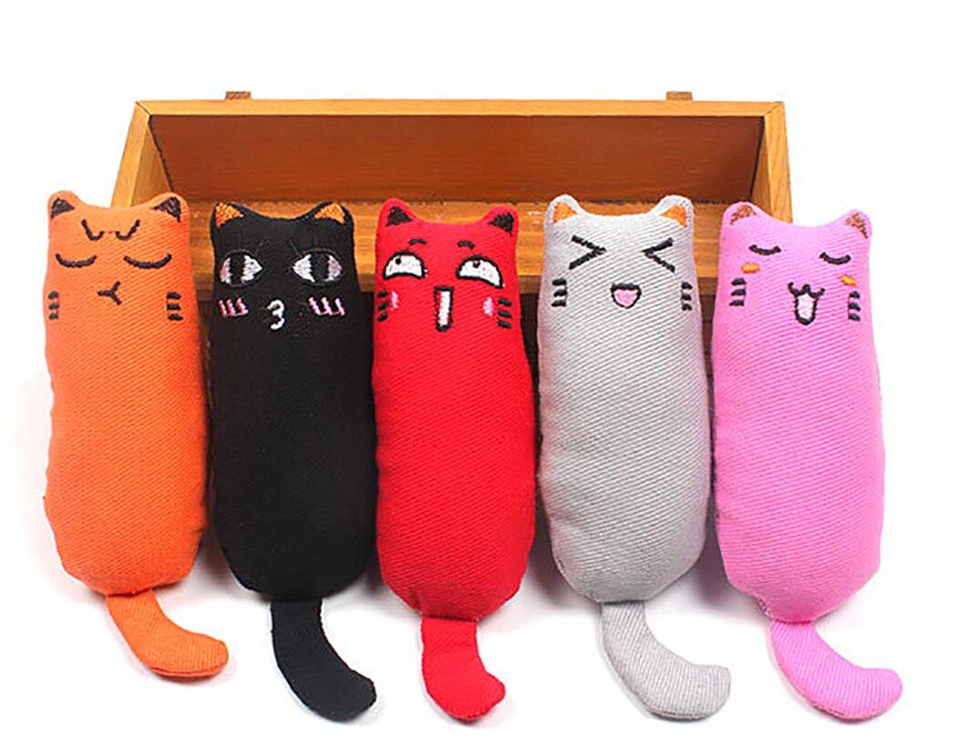 Pluche pop vriendje voor de kat meerdere varianten