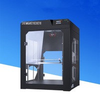ET KK 3D Printer Machine Large Printing Size 40*40*50cm Single Nozzle Power off Resume Double Screw Drive Fully Closed System