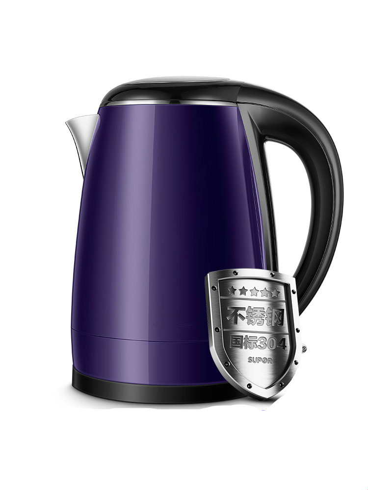 NEW Electric kettle household 304 stainless steel large capacity automatic power off to open цена и фото