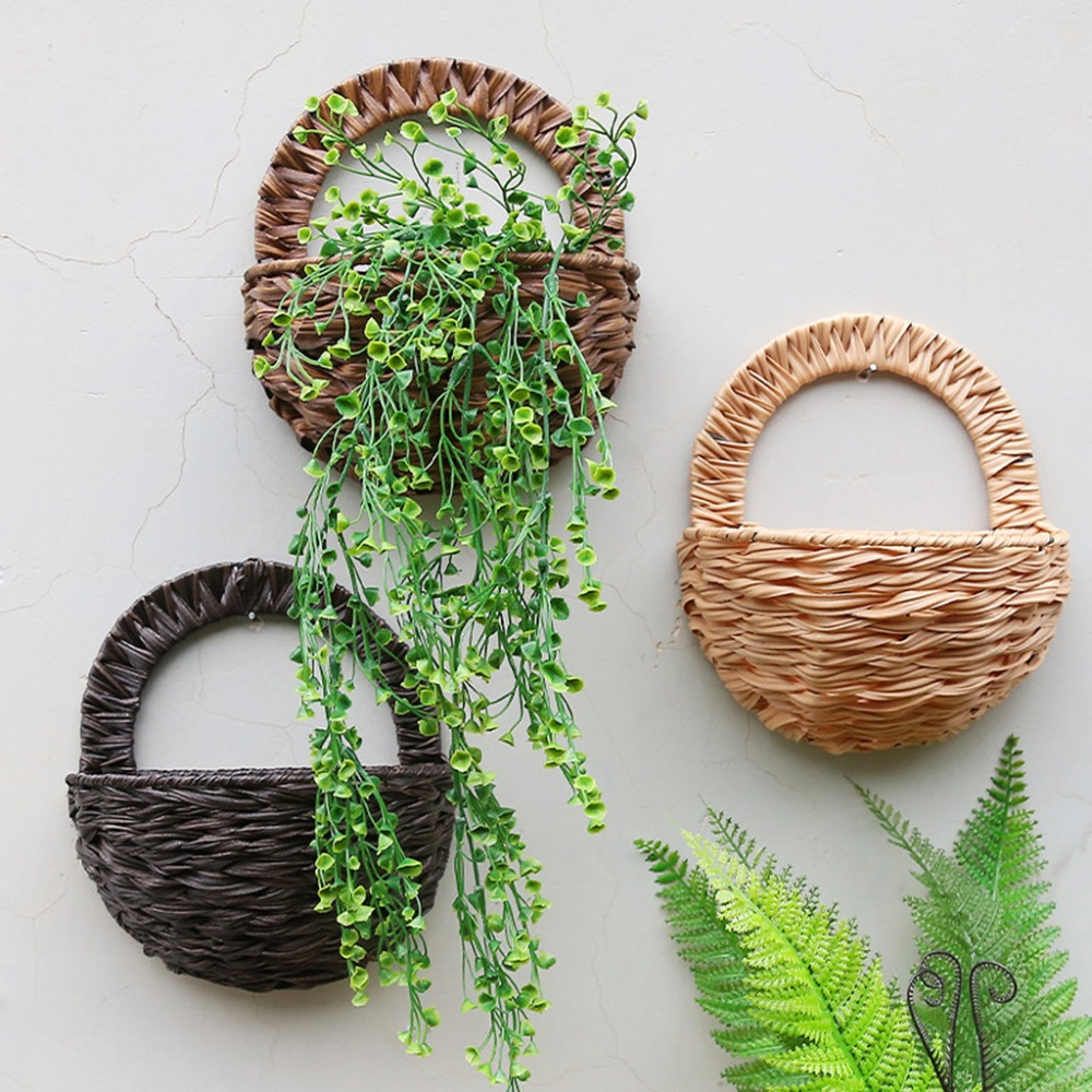 Eco-friendly Natural Flower Basket | Wall Hanging Plant Pot Holder