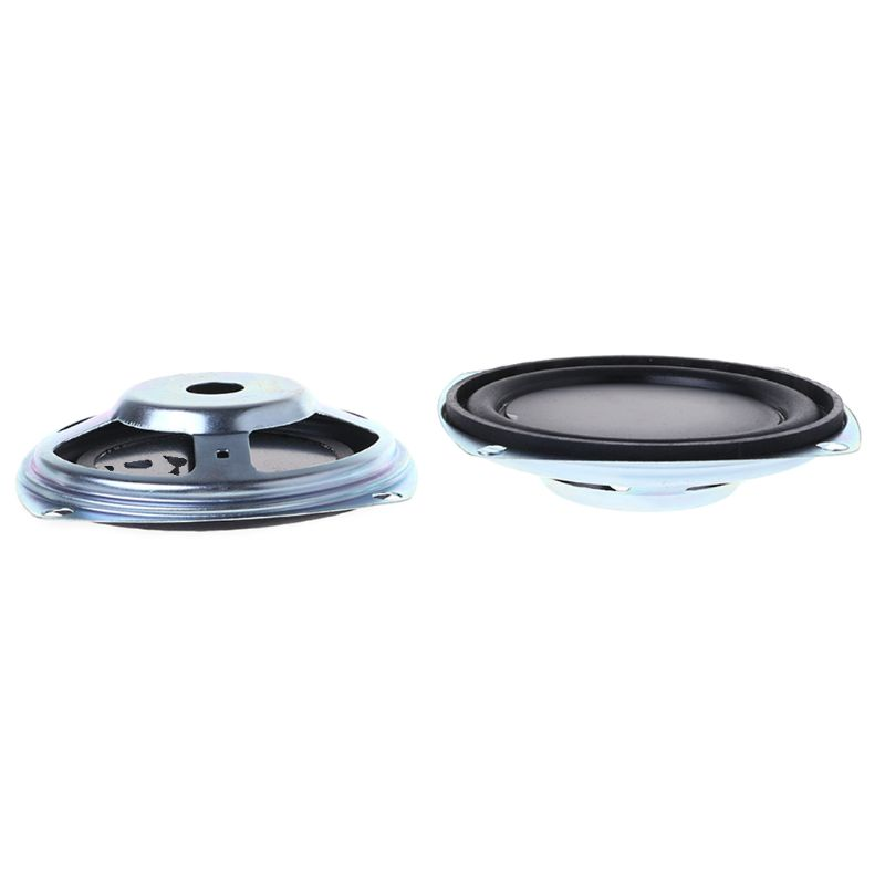 Image 2 - 2PCS Bass Speaker 77.9mm Vibrating Vibration Membrane Passive Woofer Radiator Diaphragm DIY Repair Kit-in Speaker Accessories from Consumer Electronics