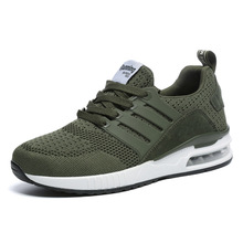 2019 New Man Sneakers for Men Rubber Black Running Shoes Arm