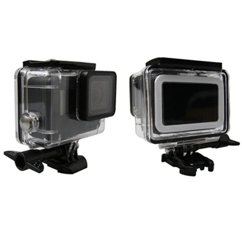 Sualtı Su Geçirmez Konut Case Go Pro Hero 6 5 45 M GoPro Hero 5 6 - Kamera ve Fotoğraf - Fotoğraf 3