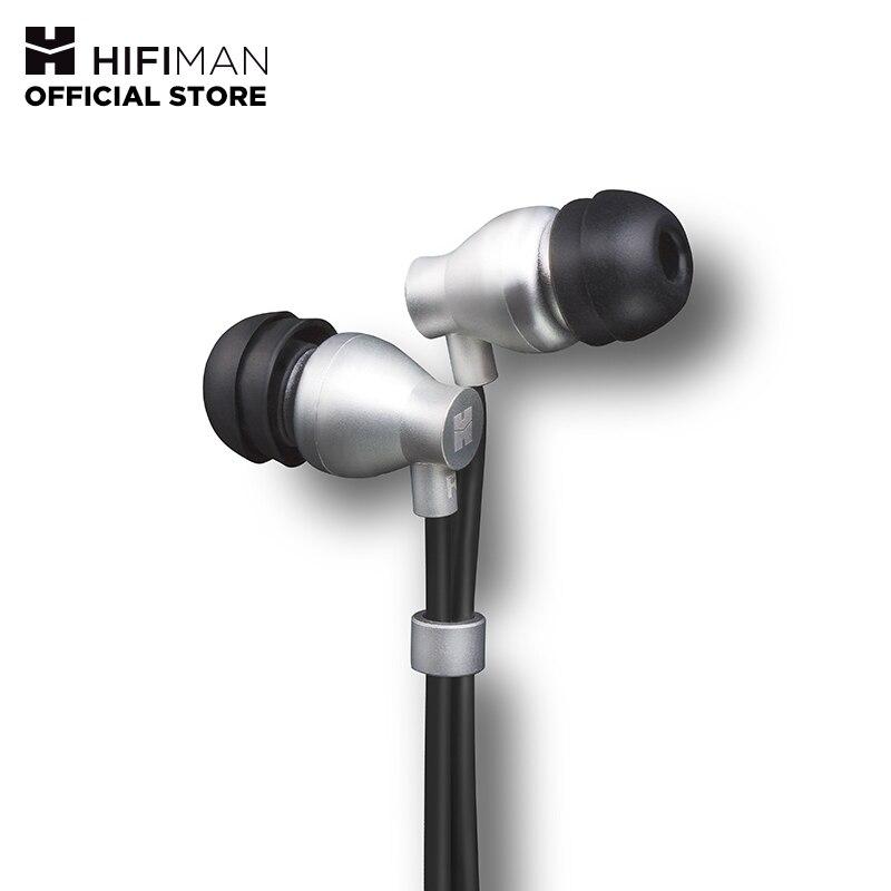 HIFIMAN RE800 Prata Topologia Dinâmica Diafragma Driver Monitores de Ouvido Fone de Ouvido Noise Isolando Fones de Ouvido