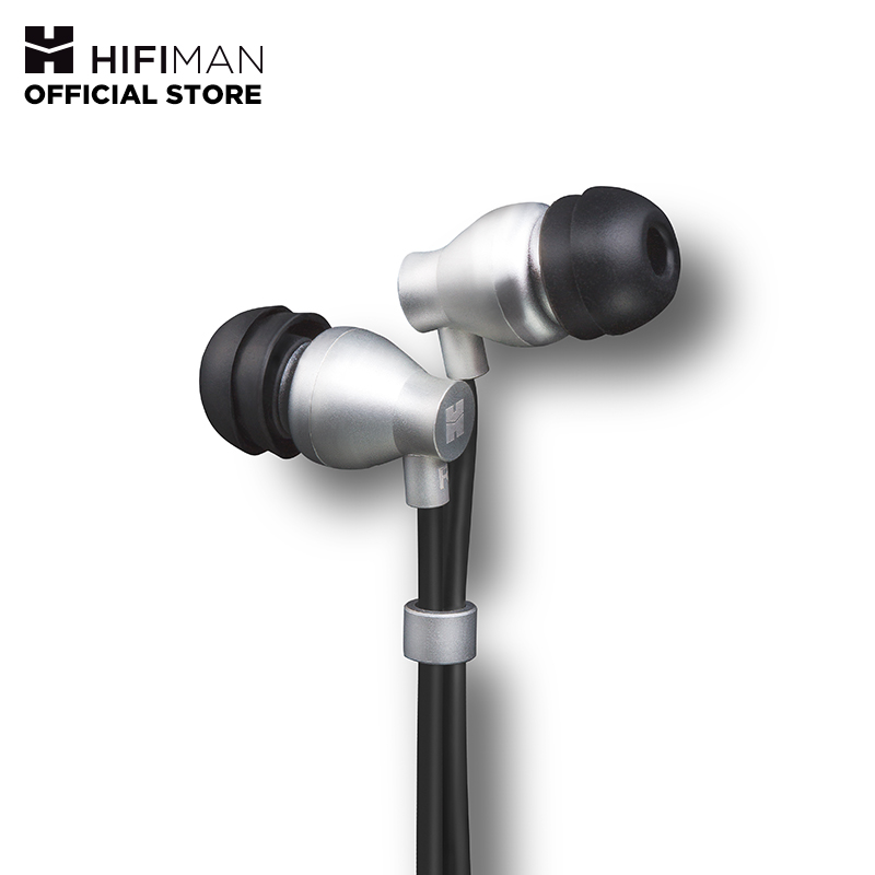 HIFIMAN RE800 Silver Topology Diaphragm Dynamic Driver In-Ear Monitors Earphone Earbuds Noise Isolating