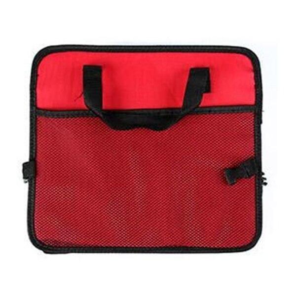 Универсальный автомобильный органайзер для хранения багажник складные ящики для хранения игрушек, продуктов грузовой контейнер сумки черный ящик автомобиль Укладка Уборка - Название цвета: Красный