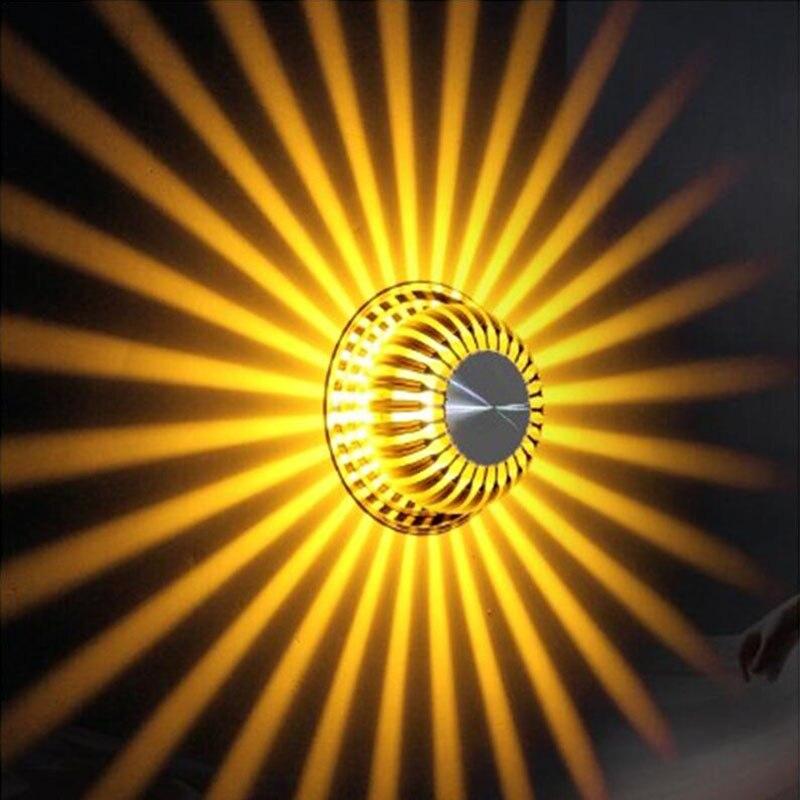 Fondo Sala Lámpara Techo Pared Pasillo Ktv Lámparas Led De Para YbfgyI6v7
