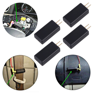 Image 1 - 2 or 4 PCS Airbag SRS system car airbag inspection tool instead of airbag repair seat belt side air curtain internal resistance