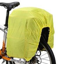 Foldable Nylon Bike Bag Rain Cover MTB Bicycle Rear Pannier Protection Durable Accessories 126*66 cm