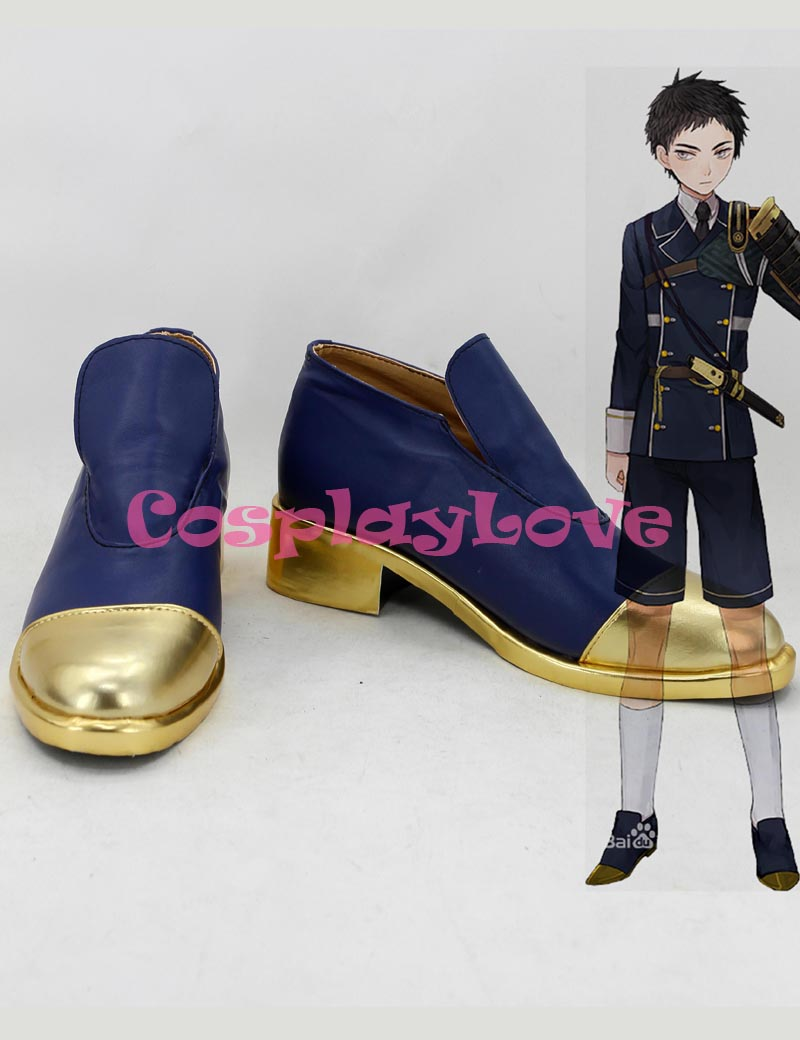 Custom Made Japanese Game Touken Ranbu Online Atsu Toushirou Cosplay Boots Shoes Slipper For Halloween Christmas