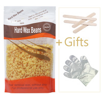 300g Honey Flavor Beauty Wax Bean Hair Removal No Waxing Paper Strips Depilator Pearl Hard Wax