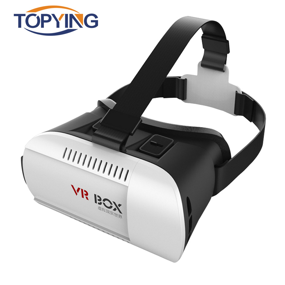 VR BOX 1.0 Version 3D Headset Virtual Reality Glasses Goggles Cardboard VR 3D Glasses For Android Iphone 4.7-6.0″ Smartphone