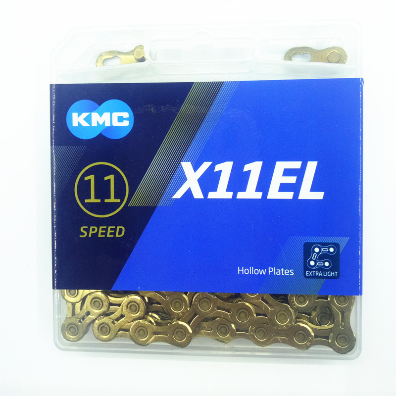 KMC X10SL 10 Speed 116 links Chain Gold Ti-N Road MTB Bike fit Shimano Sram
