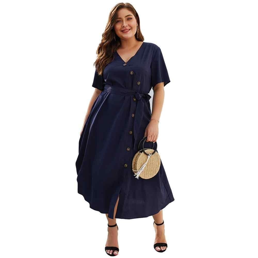 """Celebrity, proszę kliknąć na przycisk """" dekolt w serek wysoka talia Plus rozmiar 3XL 4XL sukienka kobiety Vestido na co dzień wieczorem impreza elegancka sukienka Femme"""