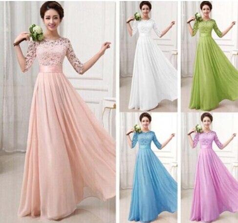 Nowy Plus Size Top Moda Vestidos De Fiesta Elegancka Koronka Szyfon