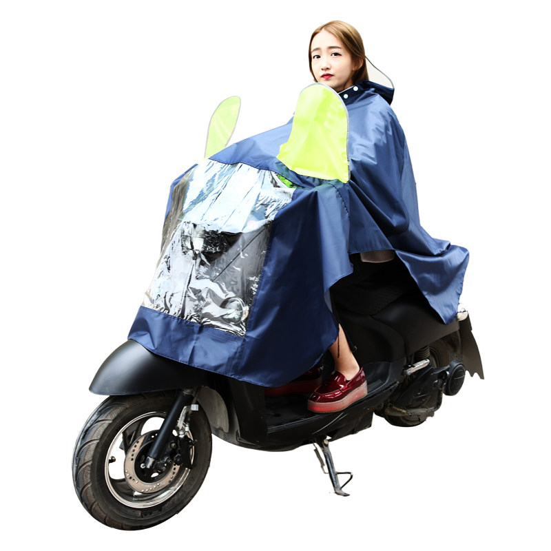 Travel Accessories Motorcycle Raincoat Rain Poncho Men Waterproof Oxford Rain Coat Poncho Adults Eco-friendly PVC Rainwear
