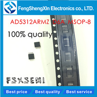 10pcs/lot New AD5312 AD5312ARMZ D6A MSOP-8 2.5 V to 5.5 V, 230uA, Dual Rail-to-Rail, Voltage Output 8-/10-/12-Bit DACs