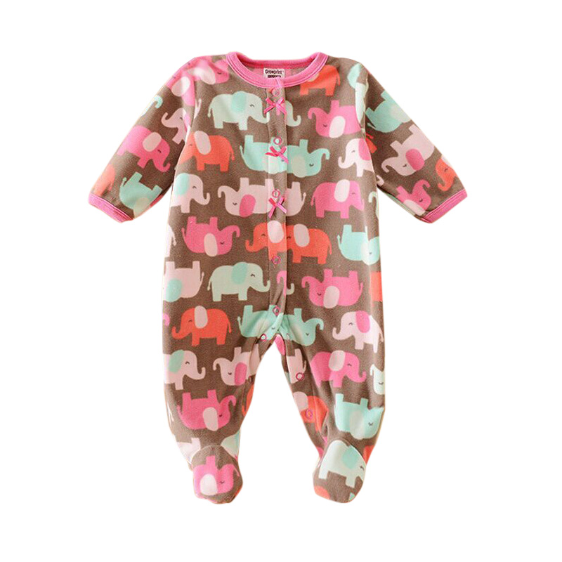 autumn Baby Rompers Costumes Fleece for Newborn Baby Clothes Boy Girl Romper Baby Clothing Overalls Ropa Bebes  Jumpsuit Clothes 2016 cute baby rompers cotton long sleeve baby clothing overalls for newborn baby clothes boy girl romper ropa bebes jumpsuit