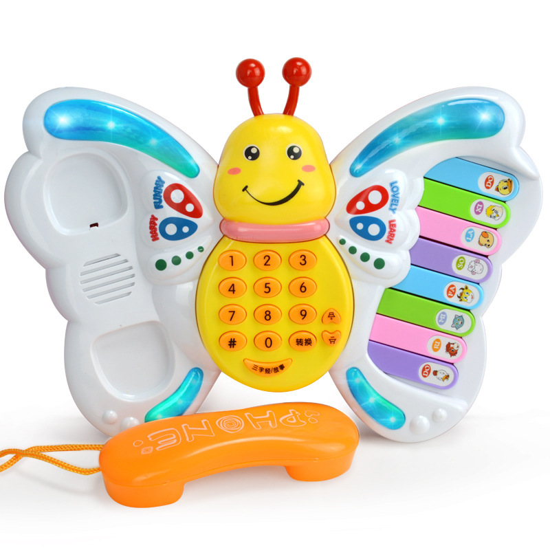 Baby Toys Learning Machine Toy With Lights & Music & Learning Stories Musical Instrument Educational Children's Educational Toys
