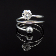 Silver 925 Ring Luxury Jewelry Costume Rings Sterling Rose Indian Treasure ring985