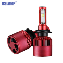 Oslamp All-In-One CREE SMD Chips H4 H7 H11 SUV Led Headlight Kits 6500K 80W/pair H13 9005 9006 Car Bulbs Dipped / High Beam G9