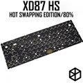 Xd87 XD87 XD80 Custom Mechanische Tastatur Kit80 % Unterstützt TKG-TOOLS Unterstützung Underglow RGB PCB programmiert gh80 kle