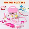 Médica kids doctor toys set función play toy niños pretend play doctor house juguetes educativos toys para niños no caja