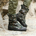 Men's Camouflage Military Boots Canvas  Boot Outdoor Jungle Lace-up Tactical Boots