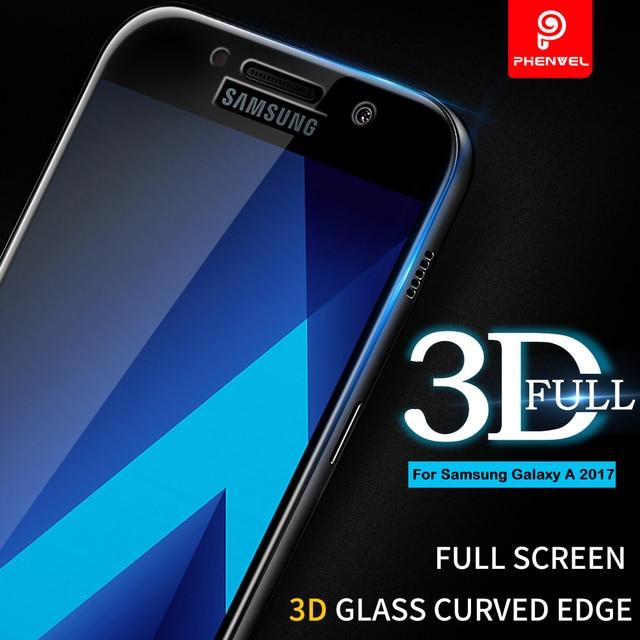 f68f819aacf433 3D Film En Verre Pour Samsung Galaxy A5 2017 Phenvel A8 Plus 2018  protecteur d