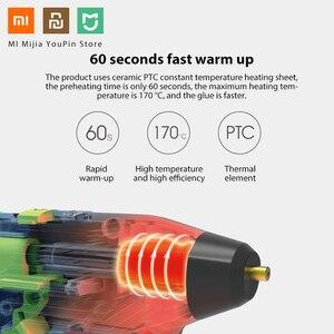 Image 3 - Xiaomi Tonfon Originele 3.6V Draadloze Hot Lijm Guns Usb Oplaadbare Met 10 Lijm Sticks Melt Lijm guns Kits