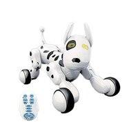 9007A 2.4 グラムワイヤレスリモコンスマートロボット犬ベビーキッズおもちゃインテリジェントトーキングロボット犬のおもちゃ電子ペットの誕生日ギフト