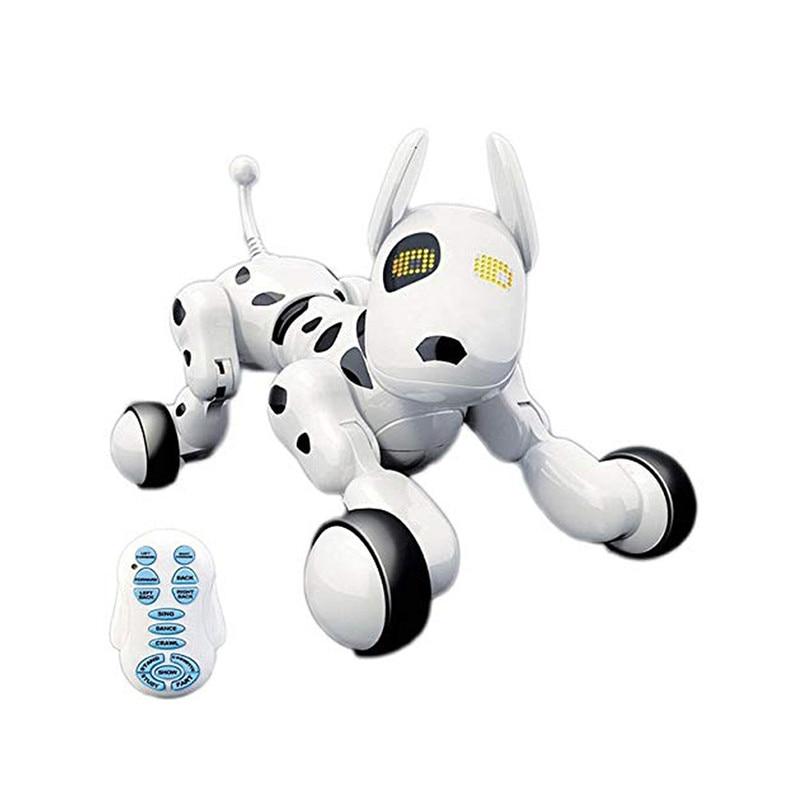 9007A 2.4G télécommande sans fil Smart Robot chien bébé enfants jouet Intelligent parlant Robot chien jouet électronique Pet cadeau d'anniversaire