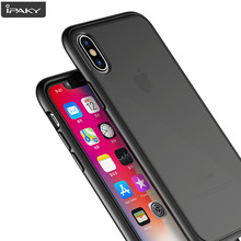Para iPhone 8 8 Plus caso magia sombra IPAKY para iPhone X funda de silicona para iPhone 6 s 6 Plus funda suave para iPhone 7 7 Plus(China)