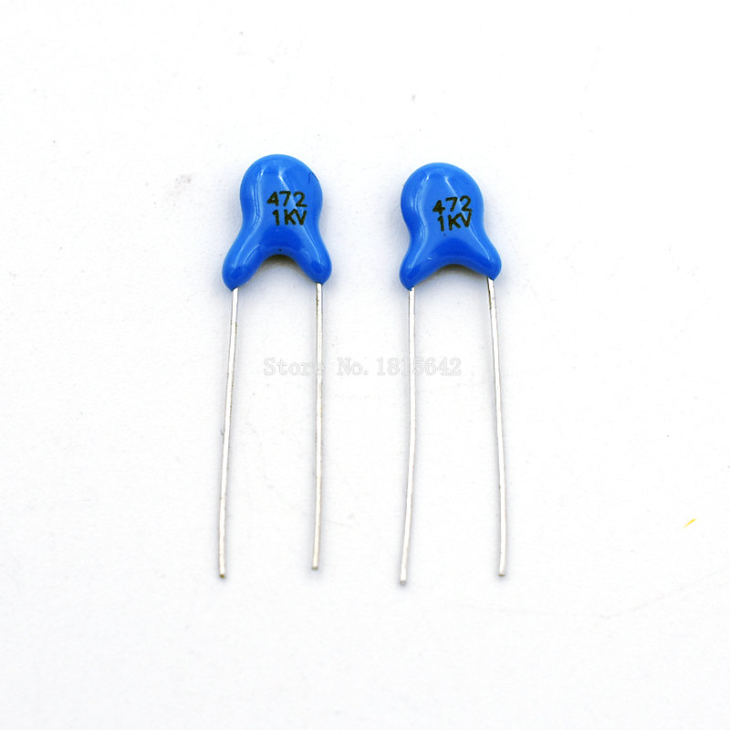 100PCS/LOT 1KV 472 4.7NF High Voltage Ceramic Capacitors DIP Capacitance 1000V 4.7nf