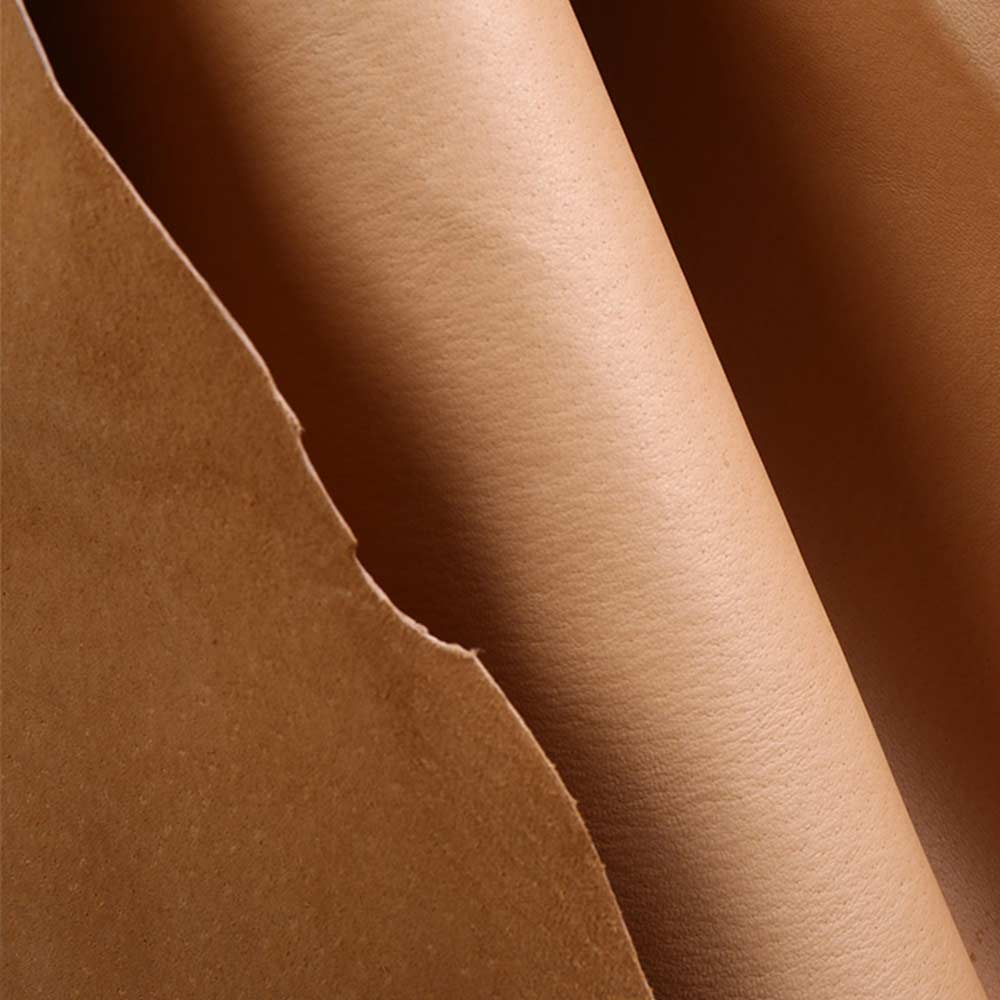 yellow brown Genuine pig split skin   leather   lining material sale by whole piece   suede   tan   leather   DIY real   leather   hide