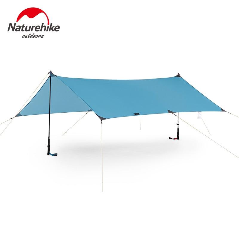 Naturheike Ultralight Tarp Outdoor Camping Survival Sun Shelter Shade Awning Silver Coating Pergola Waterproof Beach Tent