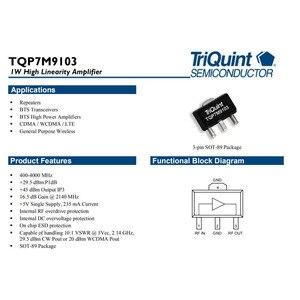Image 5 - Lusya 400MHZ 4GHZ 1W güç amplifikatörü geliştirme kurulu TQP7M9103 için ısı emici ile desteği sürekli çalışma A8 013