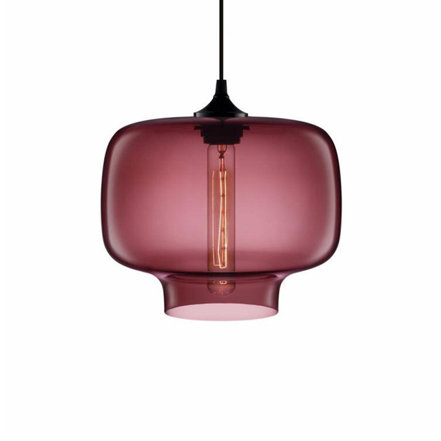 Aliexpress.com : Buy Loft Modern Glass lampshade suspension ...