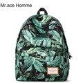 Mr. Ace Homme Корейский Стиль Нейлон Школа Рюкзак Женская Мода Школьные Сумки для Подростков Вскользь женщин Рюкзаки для женский