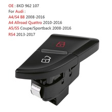 цены Front Left Central Door Lock Switch Button For Audi A4 S4 B8 Allroad 2008 2009 2010 2011 2012 A5 S5 RS4 8KD962107 8K0962107