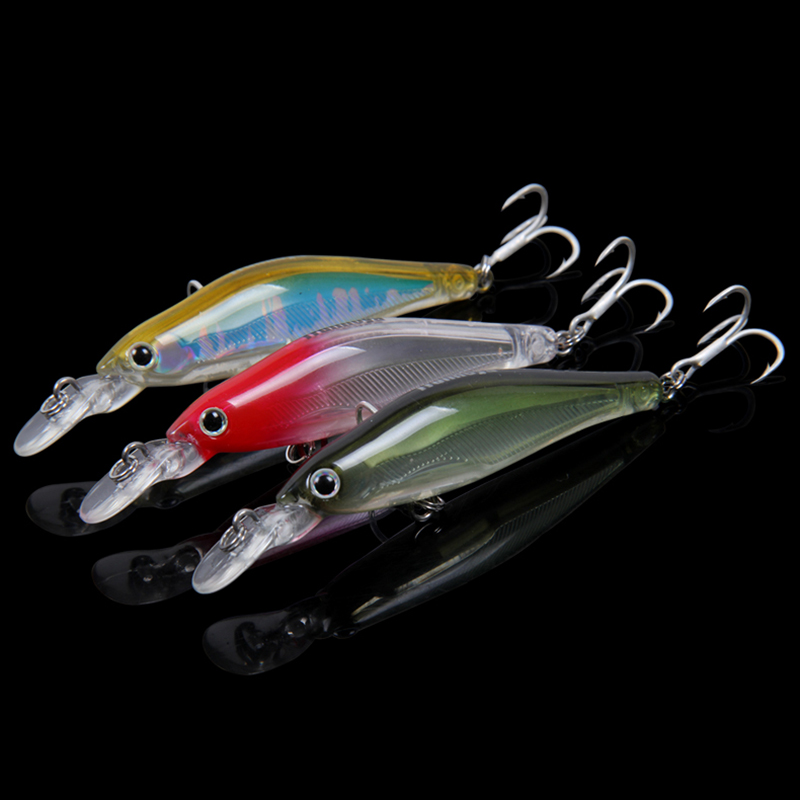 Trulinoya fishing lure submerged bait mino 65mm 6g  six color available hard bait  fishing lure 0.8-1.2 meters depth