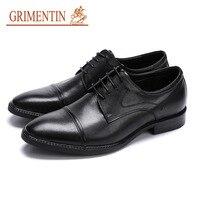 Большие размеры Для мужчин S официальная обувь натуральная кожа овчина люксовый бренд черный коричневый платье Оксфорд обувь для Для мужчи